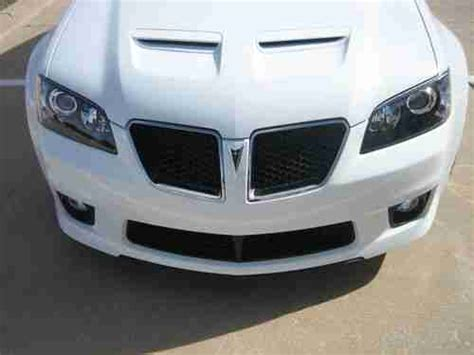 pontiac g8 for sale by owner buy used mint condition one owner white pontiac g8 gxp