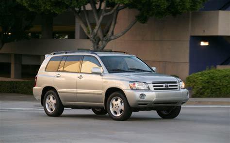 2004 Toyota Recalls 2004 Toyota Highlander Photo 1