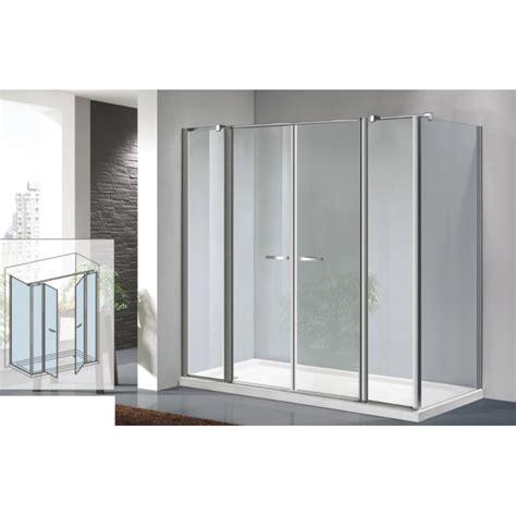 box doccia 2 ante osb box doccia con porta saloon 2 ante fisse parete