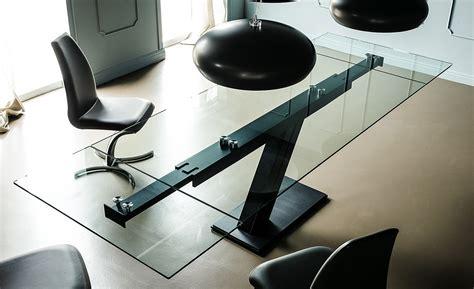 tavoli in cristallo allungabili cattelan tavolo allungabile rettangolare in cristallo zeus drive by