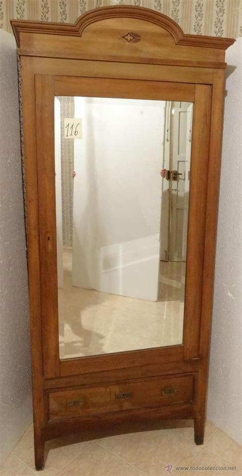 armario de ropa en madera de nogal siglo xx  dormitorios en