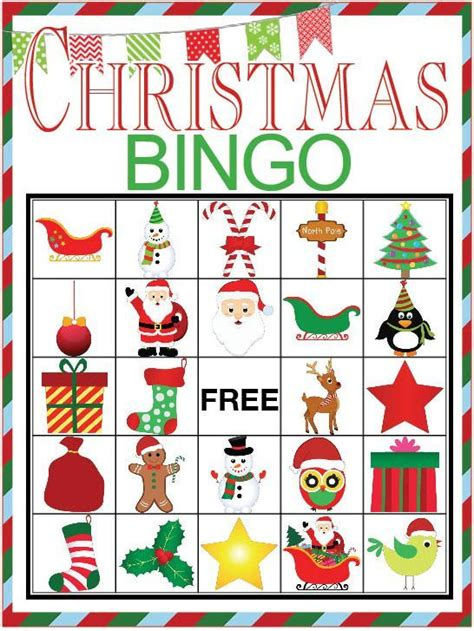 large group preschool christmas activities bingo printable bingo free printable and free