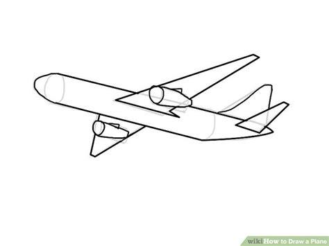 Draw A Plan 4 ways to draw a plane wikihow