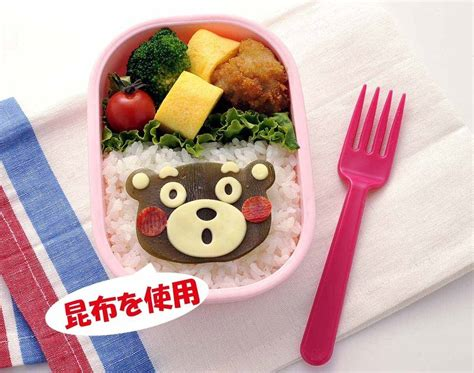 Cetakan Nasi Rice Mold Bento 3 In 1 Hello Bunny 10458 japanese 3d kumamon bento rice mold and seaweed nori cutter set f