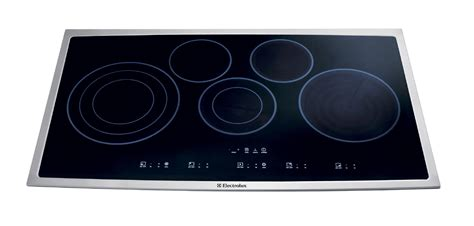 36 electric cooktops electrolux ei36ec45ks 36 quot electric cooktop stainless steel