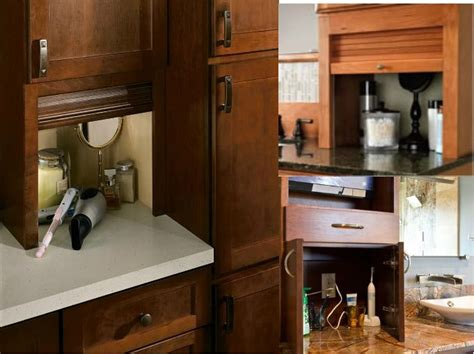 bathroom in garage add an appliance garage to your bathroom to keep all the