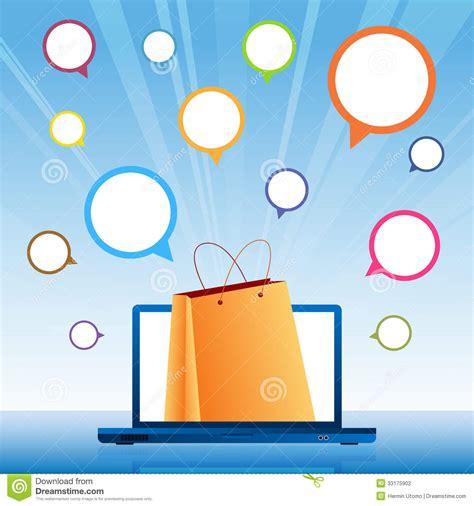 background online shop shopping online background stock vector image of online