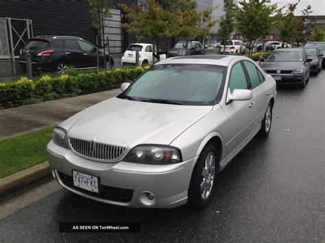lincoln ls sedan 2004 lincoln ls e sedan 4 door 3 9l