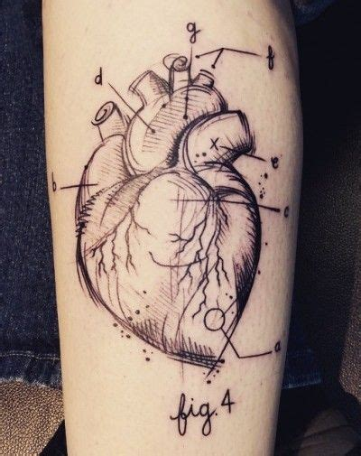 heart disease tattoos designs best 20 anatomical tattoos ideas on