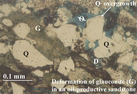 calcite cement in thin section figures and captions 3 d reservoir characterization