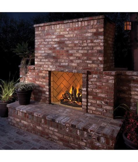 superior vre6000 outdoor masonry vent free gas firebox 36