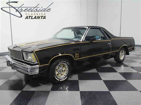 the black camino 1978 chevrolet el camino black tribute for sale