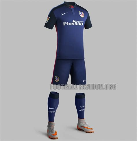 Jersey Madrid Away 2015 2016 atl 233 tico de madrid 2015 16 nike away kit football fashion org