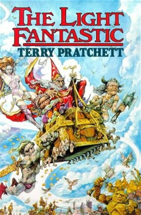 The Light Fantastic by The Light Fantastic Discworld Book 2 By Terry Pratchett
