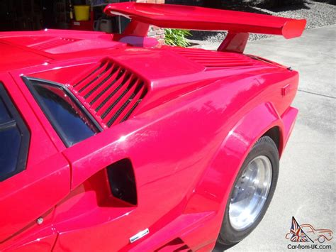 Lamborghini Countach Replica For Sale Uk 1989 Replica Kit Lamborghini Countach 25th Anniversary