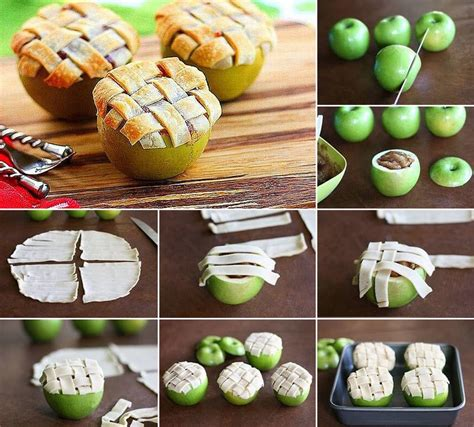 ideas products apple pie in an apple