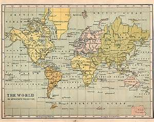 World Map Circa 1900 by Maps Antiques 153 628 Items Picclick Uk