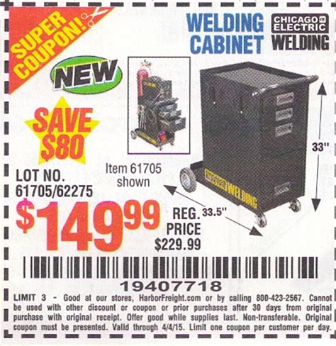 Cabinet Coupon Code March 2013 Harbor Freight Tools