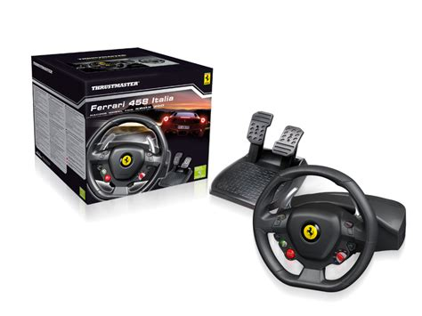 volanti compatibili xbox 360 thrustmaster builds a 458 steering wheel for the