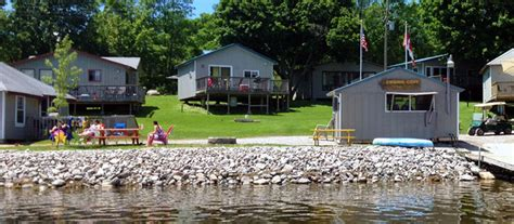 Cottage Resort Ontario by Rice Lake Cottage Rentals Fishing Cove
