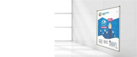 cornice 100 x 140 espositori cornici a scatto 100x140 cm outsideprint
