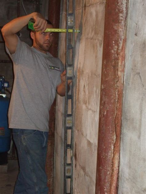 Foundation Repair   Bowing Foundation Walls in Salem, NJ