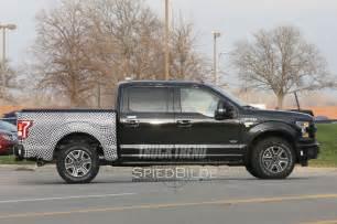 Diesel Ford Spied 2017 Ford F 150 Diesel