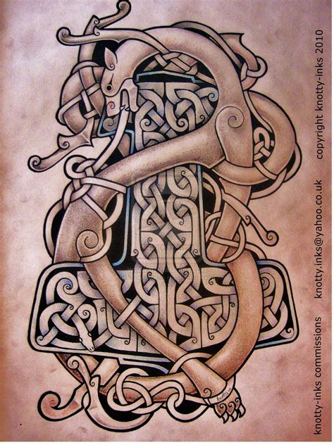 celtic design by knotty inks on deviantart