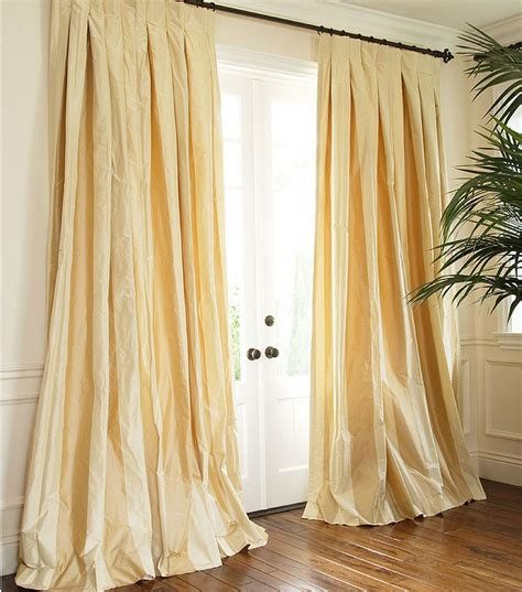 taffeta silk curtains striped silk taffeta drapery