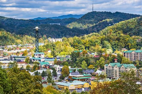 best small towns in usa gatlinburg named one of the top 10 small cities to visit