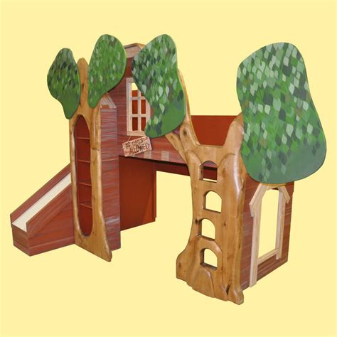 treehouse bunk bed trevor s treehouse bunk bed and indoor playhouse call 877 566 9988
