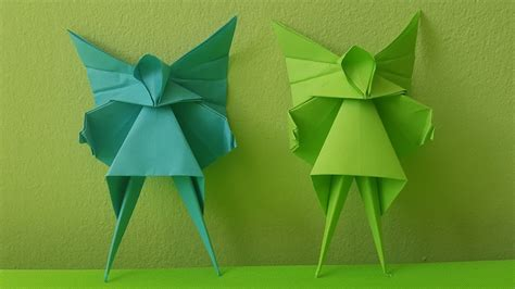 origami angel christmas tree decoration    youtube