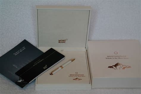 New Arrival Mont Blanc Slingbag 8819 2 tribute to montblanc limited edition porcelain 18k gold nib pen excellent like new
