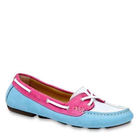 coloured loafers lk tegan loafer in blue multi coloured lyst