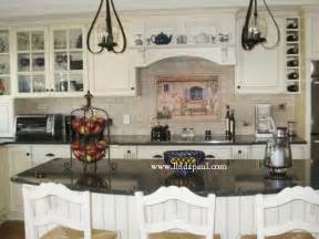 Country Kitchen With White Cabinets by French Country Kitchen With White Cabinets And Black