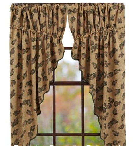 pine cone curtains pine cone prairie curtain by victorian heart the weed