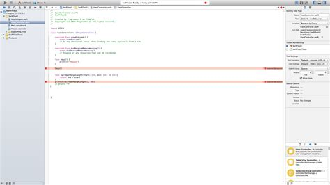 xcode 6 autolayouts stack overflow ios xcode 6 bug for swift functions stack overflow