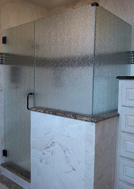 Niagara Shower Doors Guardian Niagara Textured Glass Midcentury Bathroom Dallas By Guardian Inglass