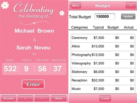 5 Free Wedding Planner Apps For iPhone