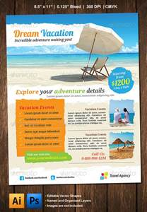 Vacation Flyer Template by Vacation Flyer Graphicriver