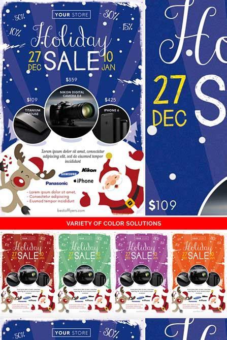 Free Winter Holiday Flyer Templates winter sale free flyer template best of flyers