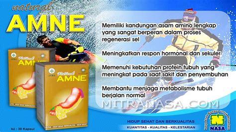 Asam Amino Amne Nasa amne untuk regenerasi sel dalam tubuh