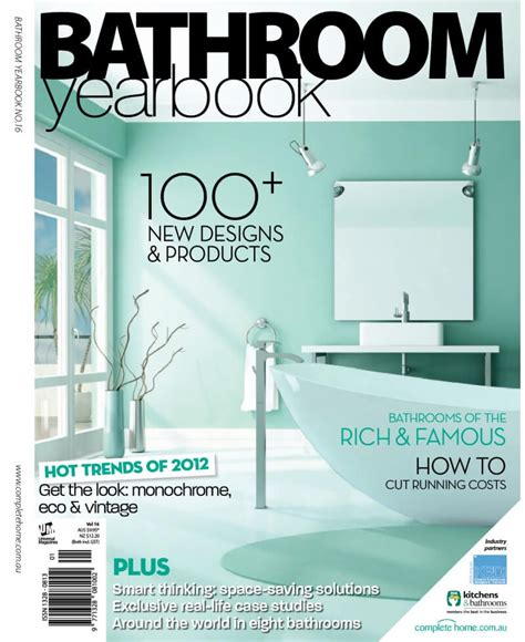 bathroom cover bathroom yearbook magazine volume 16