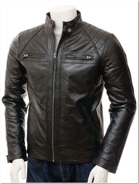contoh model jaket kulit pria terbaru  keren