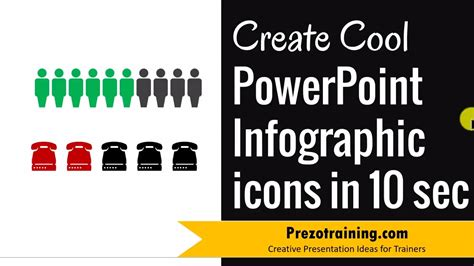 Create Cool Powerpoint Infographic Icons In Just 10 Secs Make Cool Powerpoints
