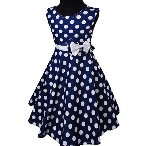 Dress Baby Motif Flower And Polkadot 9 15 Bln Available 3 Color navy blue white polka dots summer cotton sleeveless floral dress ebay