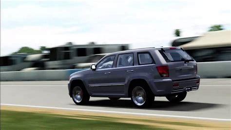 q7 jeep forza motorsport 4 audi q7 vs jeep grand srt8