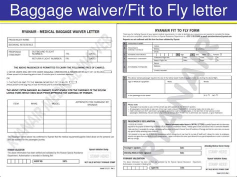 fit to fly certificate template modul 5 passengers with reduced mobility prm s
