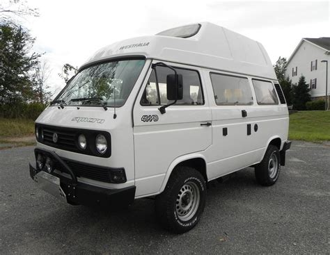 volkswagen westfalia syncro no reserve high top 1989 vw vanagon westfalia syncro