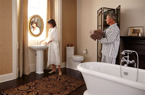 Standard Plumbing St George by Dxv St George Master Bathroom Suite Featuring The